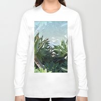 palm Long Sleeve T-shirts featuring Palm by Danny T