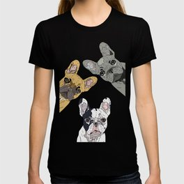 Triple Frenchies T-shirt