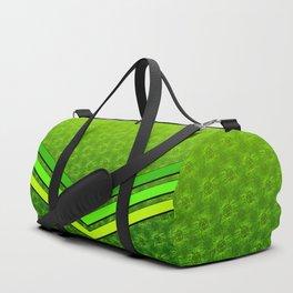 d20 Geek Meets Nerd Pattern Duffle Bag