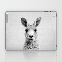 Kangaroo - Black & White Laptop & iPad Skin