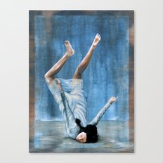 Almost Blue Canvas Print