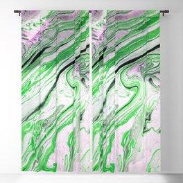 Melting Green Blackout Curtain