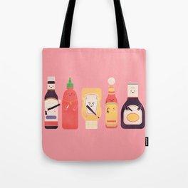 Ex-Condiments Tote Bag