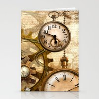steampunk Stationery Cards featuring steampunk by Ancello