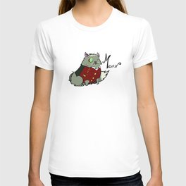 Fancy cat T-shirt