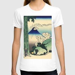 "Hokusai (1760–1849) ""Mishima Pass in Kai Province"" T-shirt"