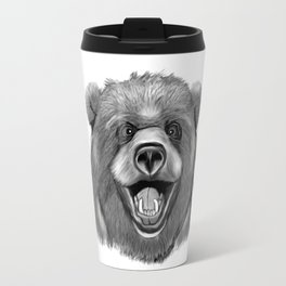 Happy Bear Travel Mug