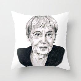 Ursula Le Guin Throw Pillow