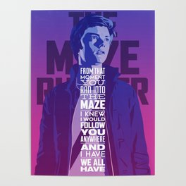 Dear Tommy (The Maze Runner) Poster