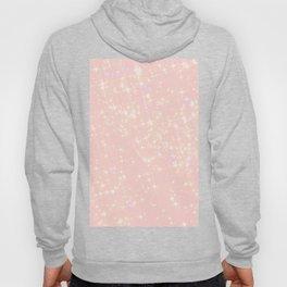 Abstract girly pastel pink elegant glam glitter Hoody