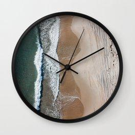 Moody Shore Wall Clock