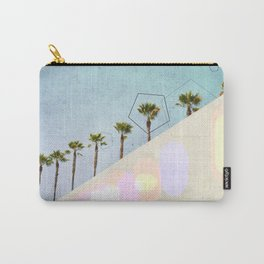 Levitated Mass (Blue) Carry-All Pouch