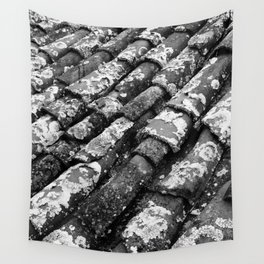 Roof tiles Wall Tapestry