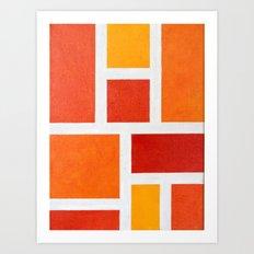 60's Mod Art Print
