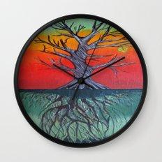 Life Above and Below Wall Clock