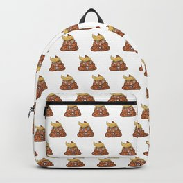 A Whole Lotta Pooliticians - Satirical Art - 57 Montgomery Ave Backpack