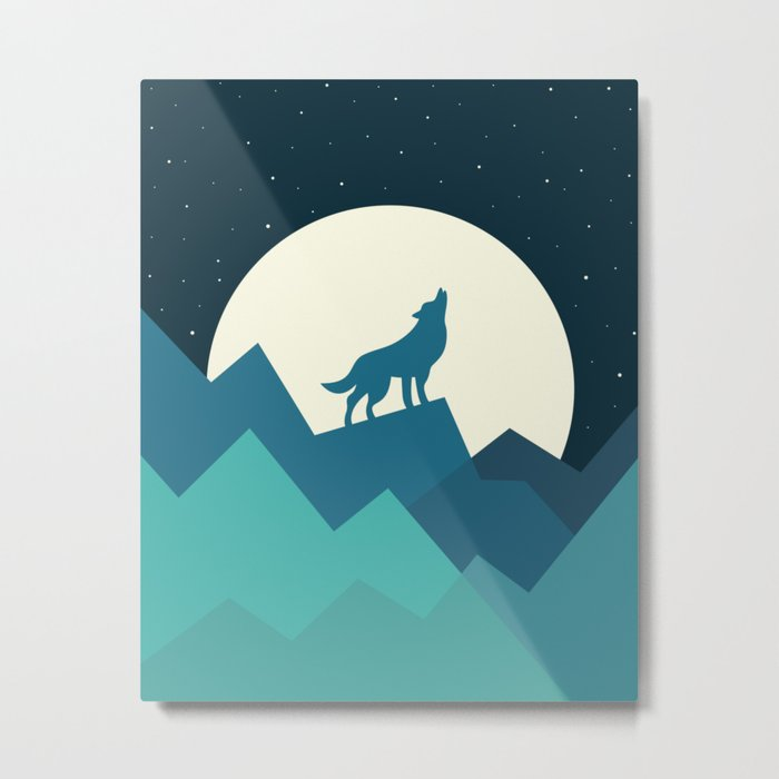 Keep The Wild In You Metal Print