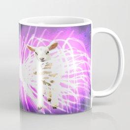 Lamb on the Fire Works Coffee Mug
