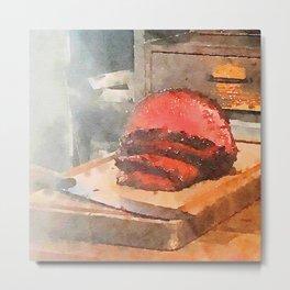 The Meatermelon 1 Metal Print