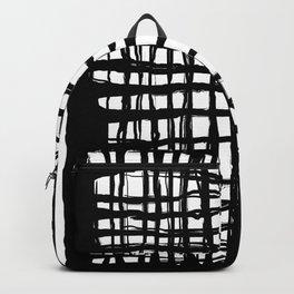 black and white screen Backpack