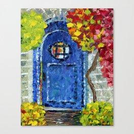 Door to the Secret Garden Canvas Print