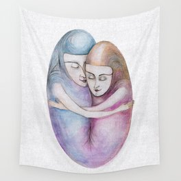 absolute togetherness Wall Tapestry