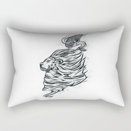 Bold Like a Lion, Gentle Like a Dove Rectangular Pillow