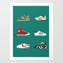 Sneakerlove Art Print