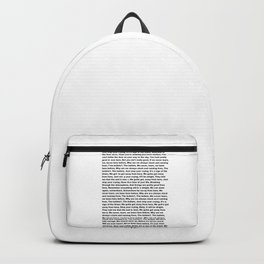 Sign of the Times (Lyrics) Backpack