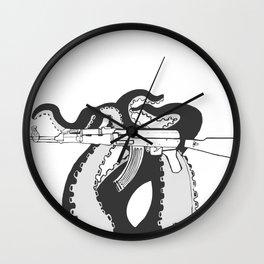 Tentacle-Kalashnikov (TK-47) Wall Clock