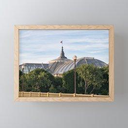 Great Palace in Paris, France. Framed Mini Art Print