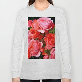 Red Roses Long Sleeve T-shirt