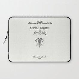 Little Women Louisa May Alcott Title Page Laptop Sleeve