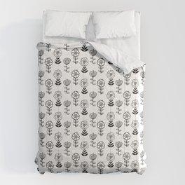 Doodle Garden Comforters