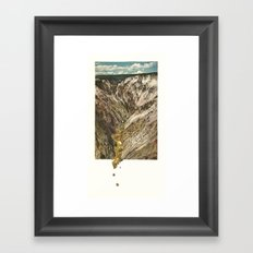 Gold Rush Framed Art Print