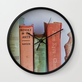Wuthering Heights and Jane Eyre Wall Clock