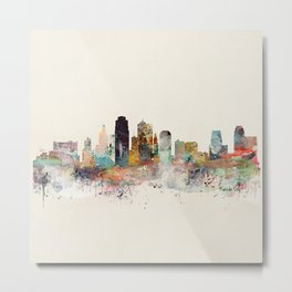 kansas city missouri Metal Print