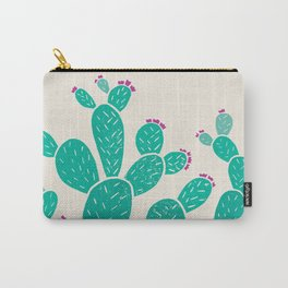 Blooming Prickly Pears Carry-All Pouch