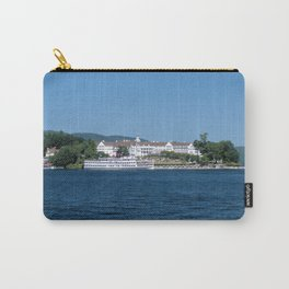 The Sagamore Hotel & Lac du Saint Sacrement Steamboat Carry-All Pouch