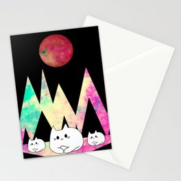 cats 261 Stationery Cards