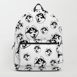 GIFTS FOR THE HUSKY DOG LOVER FOR YOU FROM MONOFACES IN 2021 Backpack