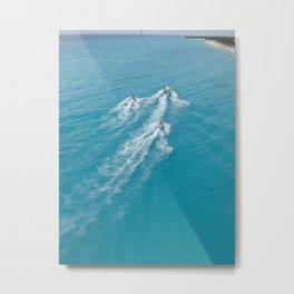 The Parasailing View Metal Print