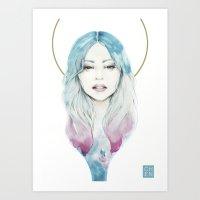 Yvette Art Print