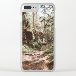 Wild summer - Landscape and Nature Photography Clear iPhone Case