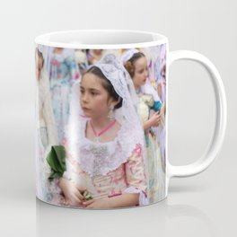 Valencia Spain -  Fallas is a phenomenon Coffee Mug