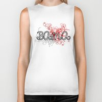 alabama Biker Tanks featuring Alabama by Tanie