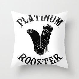 Large Logo Style  Throw Pillow