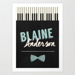 Blaine Anderson Piano Art Print