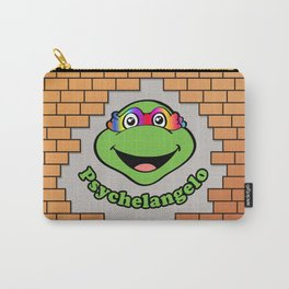 Psychelangelo - The Lost Ninja Turtle Carry-All Pouch