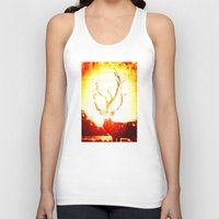stag Tank Tops featuring STAG by Chrisb Marquez